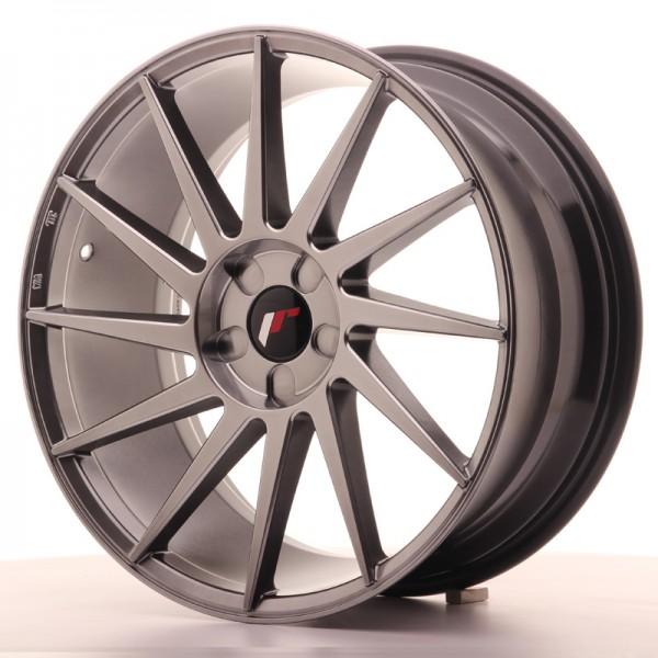 JR Wheels JR22 19x8,5 ET35-43 5H BLANK Hyper Black