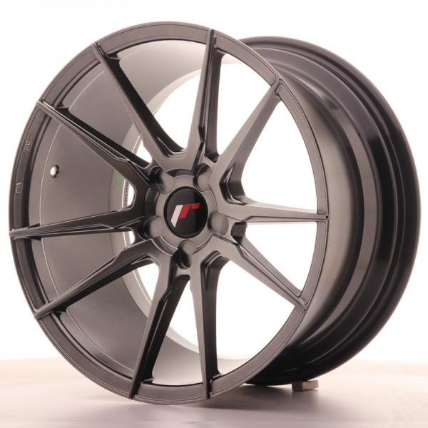 JR Wheels JR21 18x9,5 ET20-40 5H BLANK Hyper Black