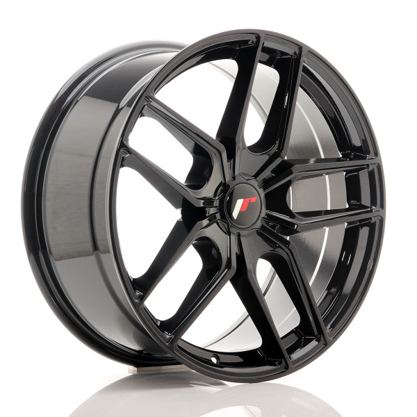 JR Wheels JR25 19x8,5 ET20-40 5H BLANK Gloss Black