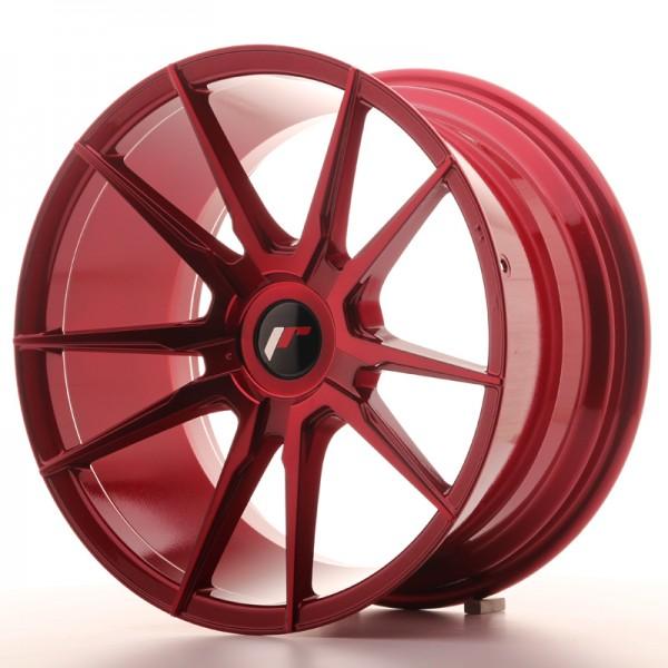 JR Wheels JR21 18x9,5 ET20-40 BLANK Platinum Red
