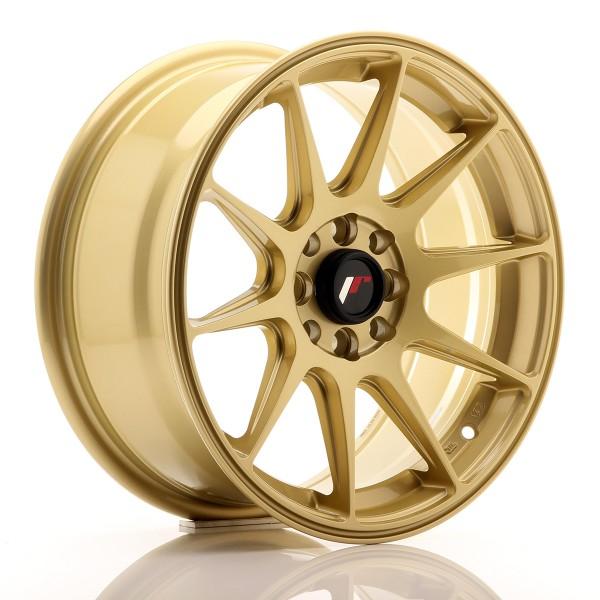 JR Wheels JR11 16x7 ET25 4x100/108 Gold