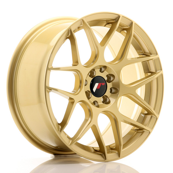 JR Wheels JR18 17x8 ET35 4x100/114 Gold