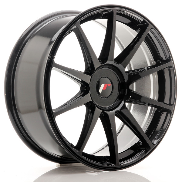 JR Wheels JR11 19x8,5 ET25-40 BLANK Gloss Black