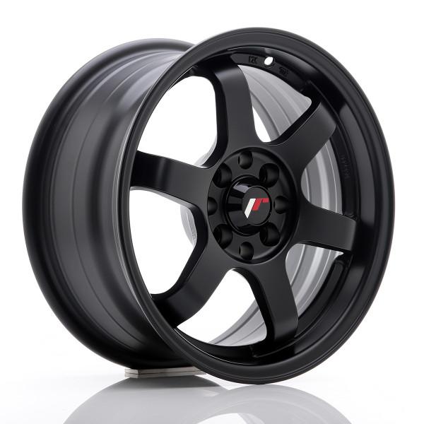 JR Wheels JR3 15x7 ET40 4x100/114 Matt Black