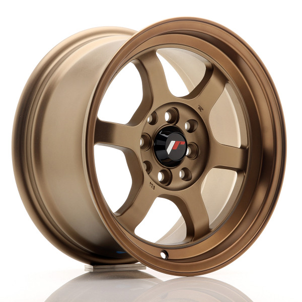 JR Wheels JR12 15x7,5 ET26 4x100/114 Dark Anodized Bronze