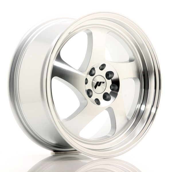 JR Wheels JR15 17x8 ET35 4x100/114 Silver Machined Face