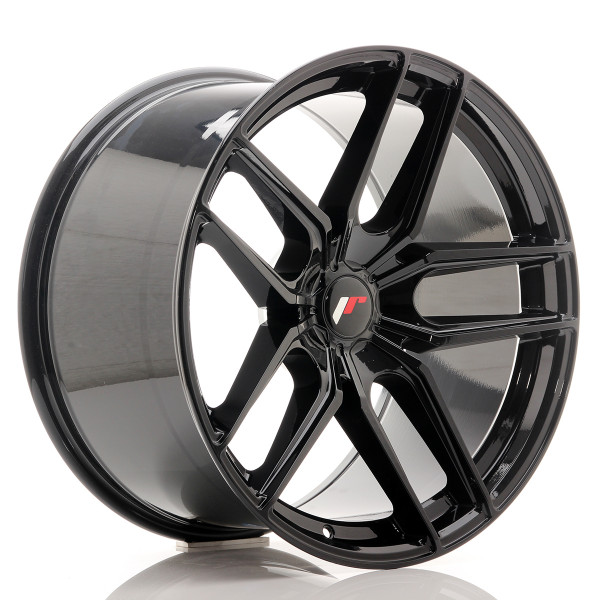 JR Wheels JR25 20x11 ET20-40 5H BLANK Gloss Black