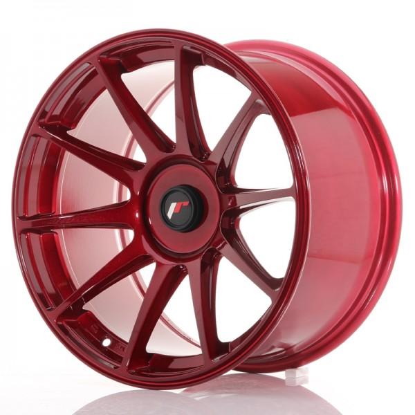 JR Wheels JR11 18x9,5 ET20-30 BLANK Platinum Red