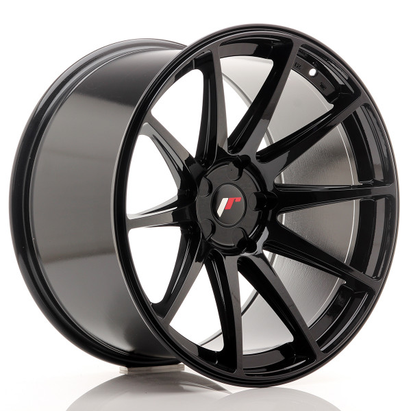 JR Wheels JR11 20x11 ET20-30 5H BLANK Gloss Black