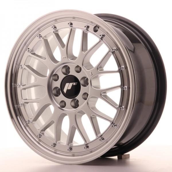 JR Wheels JR23 16x7 ET40 4x100/114,3 Hyper Silver w/Machined Lip