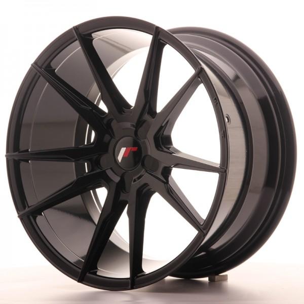 JR Wheels JR21 19x9,5 ET35-40 5H BLANK Gloss Black
