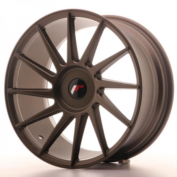 JR Wheels JR22 18x8,5 ET40 BLANK Matt Bronze
