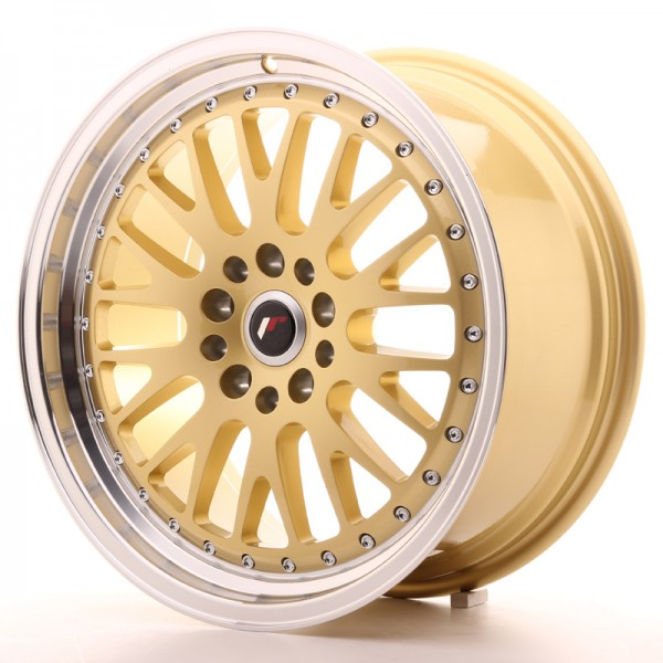 JR Wheels JR10 18x8,5 ET35 5x100/120 Gold w/Machined Lip