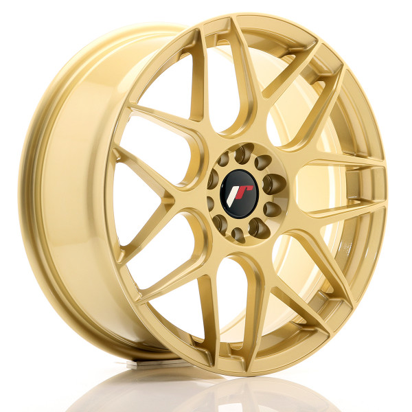 JR Wheels JR18 18x7,5 ET40 5x112/114 Gold