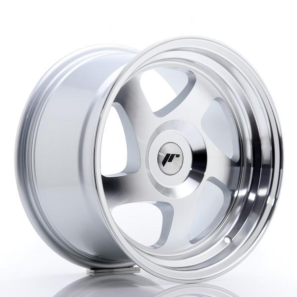 JR Wheels JR15 16x9 ET20 BLANK Silver Machined Face
