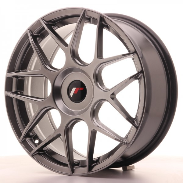 JR Wheels JR18 18x7,5 ET25-40 BLANK Hyper Black