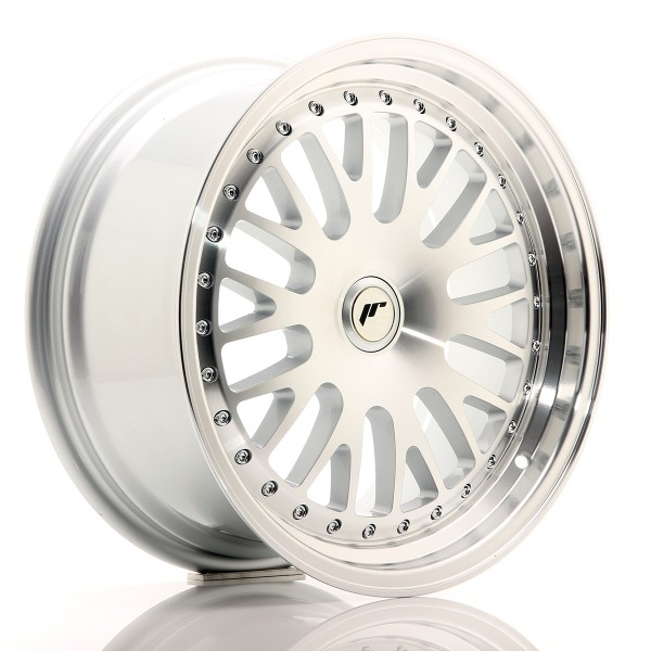 JR Wheels JR10 17x8 ET35 BLANK Silver Machined Face