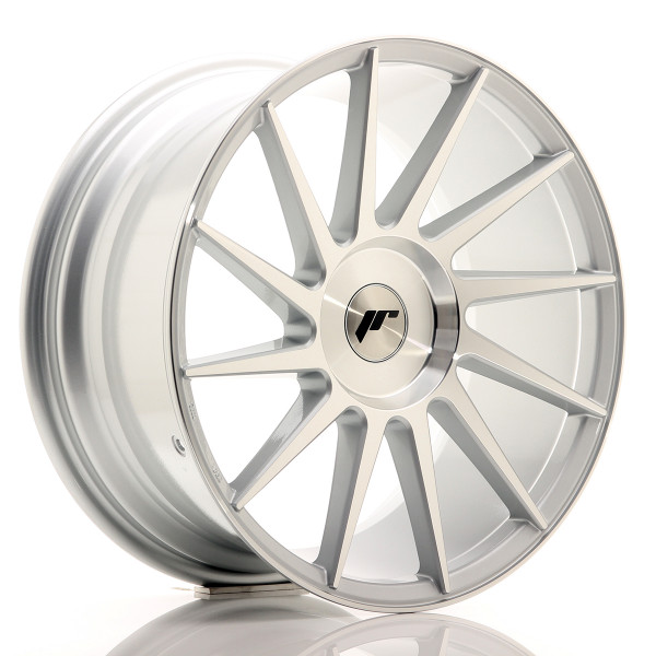 JR Wheels JR22 18x8,5 ET20-40 BLANK Silver Machined Face