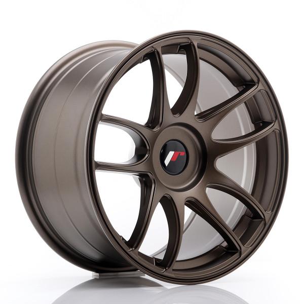 JR Wheels JR29 17x9 ET20-38 BLANK Matt Bronze