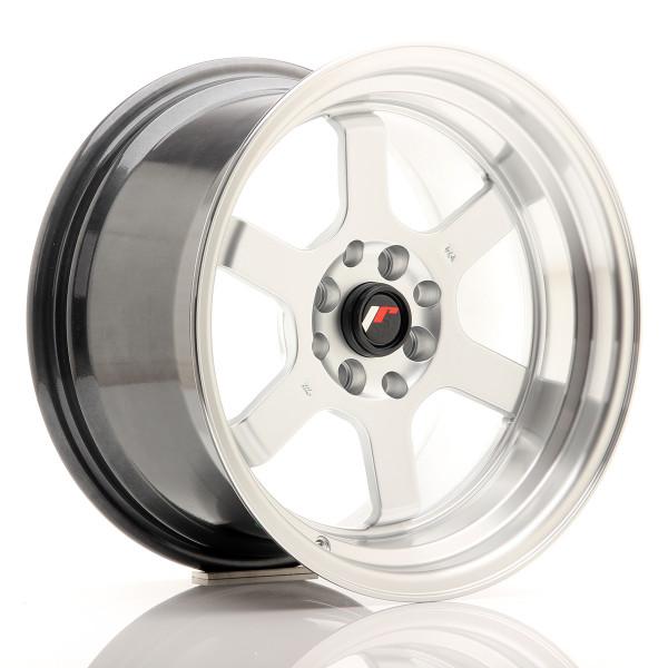 JR Wheels JR12 16x9 ET10 4x100/114 Hyper Silver w/Machined Lip