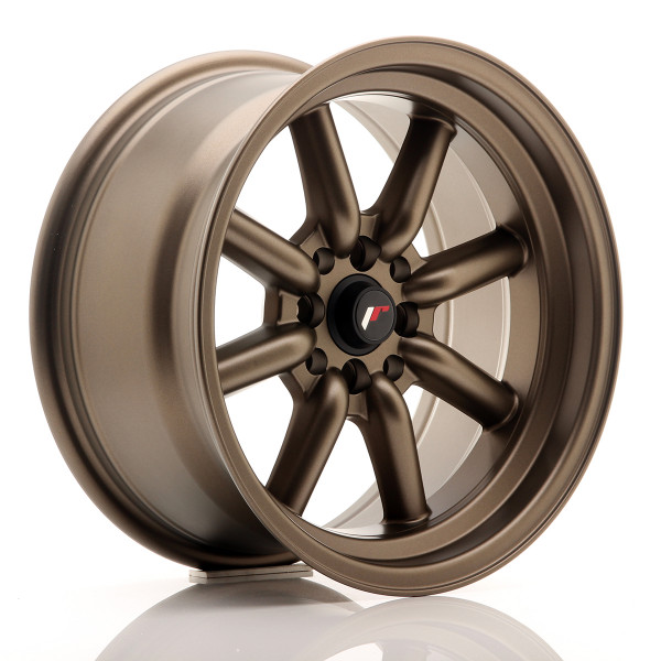 JR Wheels JR19 16x8 ET0 4x100/114 Matt Bronze