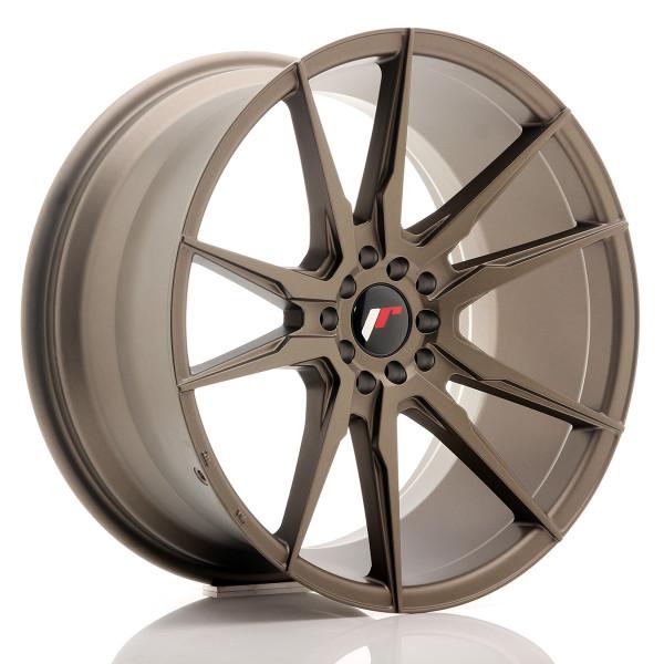 JR Wheels JR21 19x9,5 ET40 5x112/114 Matt Bronze