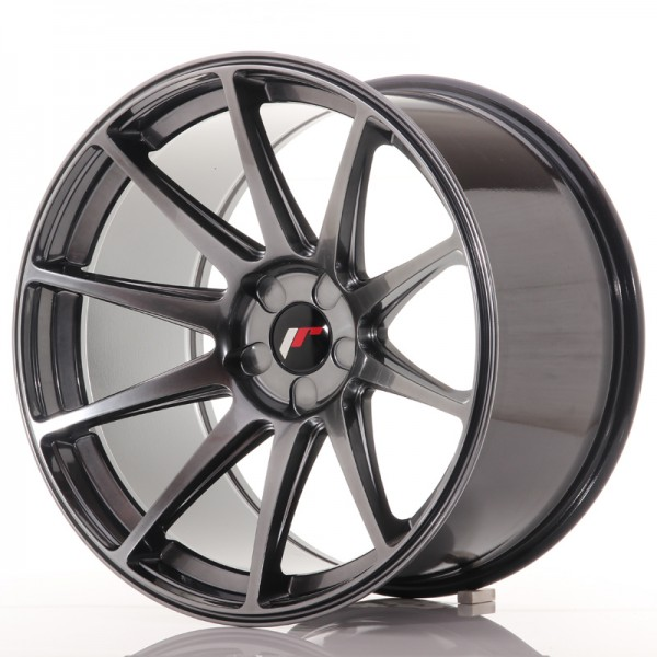 JR Wheels JR11 19x11 ET15-25 5H BLANK Hyper Black