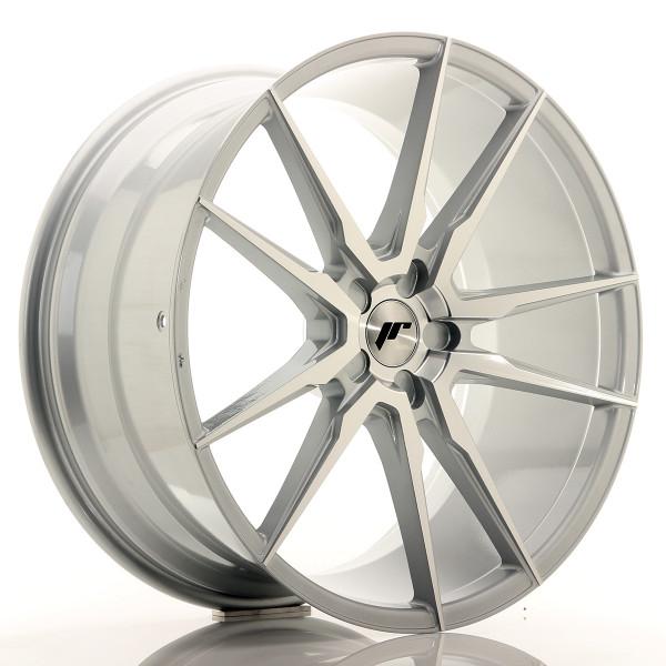 JR Wheels JR21 22x10,5 ET15-52 5H BLANK Silver