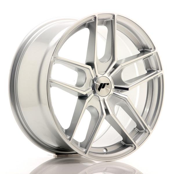 JR Wheels JR25 18x8,5 ET20-40 5H BLANK Silver Machined Face