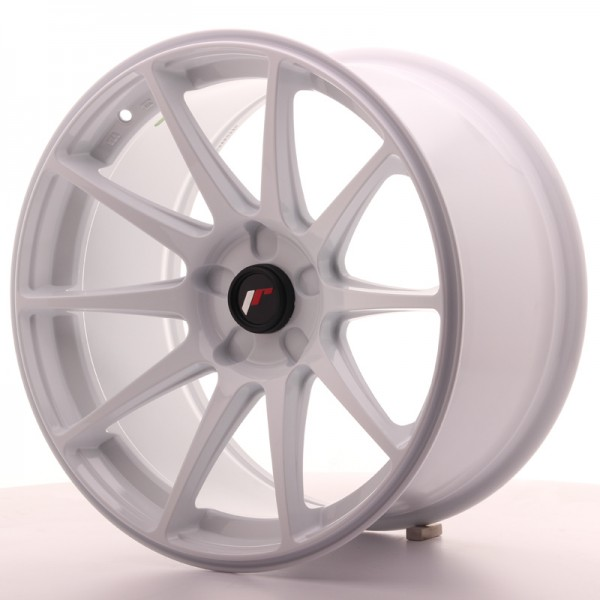 JR Wheels JR11 18x9,5 ET30 5H BLANK White