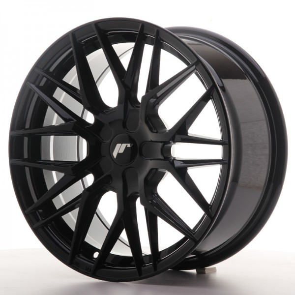 JR Wheels JR28 17x8 ET25-40 BLANK Gloss Black