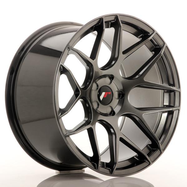 JR Wheels JR18 20x11 ET20-32 5H BLANK Hyper Black