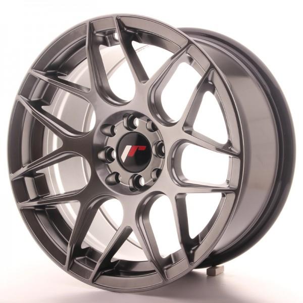 JR Wheels JR18 16x8 ET25 4x100/108 Hyper Black
