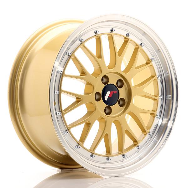 JR Wheels JR23 18x8,5 ET45 5x112 Gold w/Machined Lip