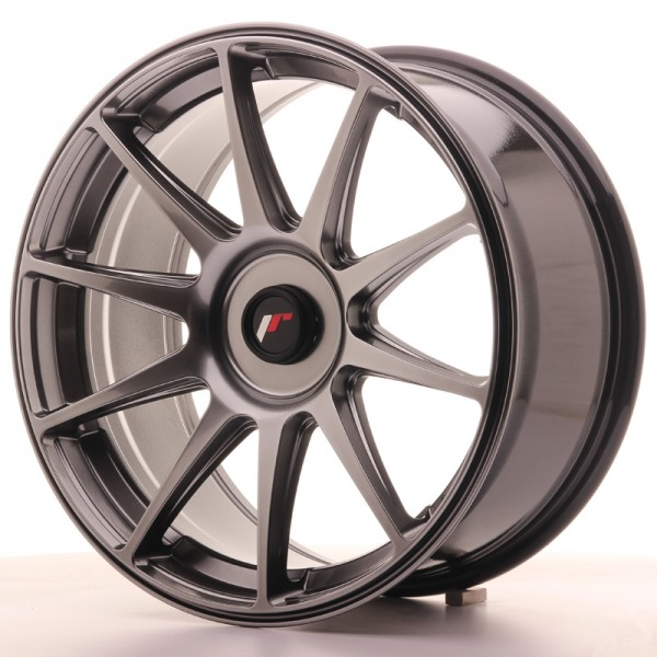 JR Wheels JR11 18x8,5 ET35-40 BLANK Dark Hyper Black