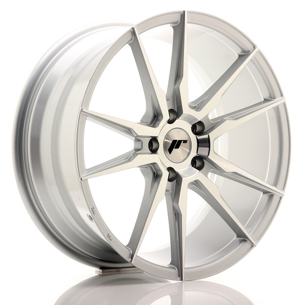JR Wheels JR21 19x8,5 ET35 5x120 Silver Machined Face