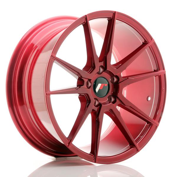 JR Wheels JR21 18x8,5 ET40 5x114,3 Platinum Red