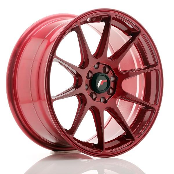 JR Wheels JR11 17x8,25 ET35 5x100/114,3 Platinum Red