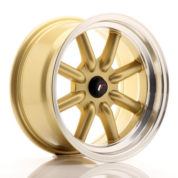 JR Wheels JR19 16x8 ET-20-0 BLANK Gold