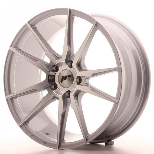 JR Wheels JR21 19x8,5 ET35 5x120 Silver Machined Face