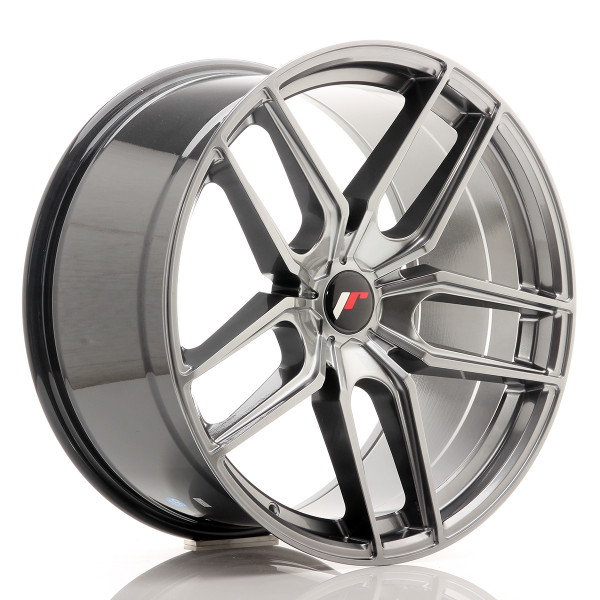 JR Wheels JR25 20x10 ET20-40 5H BLANK Hyper Black