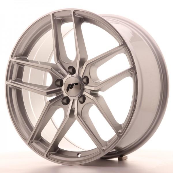 JR Wheels JR25 19x8,5 ET40 5x112 Silver Machined Face