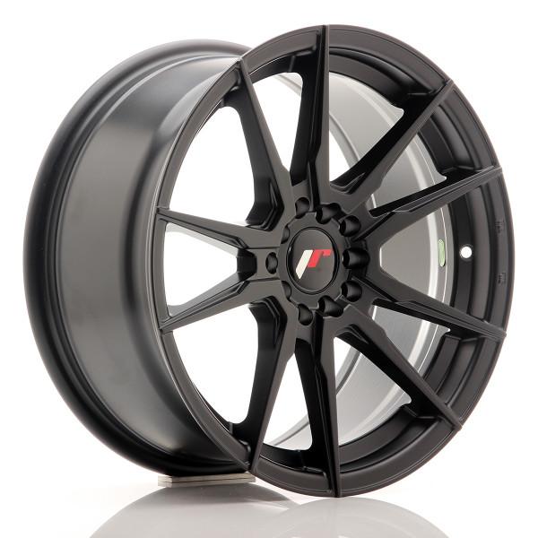 JR Wheels JR21 17x8 ET25 4x100/108 Matt Black