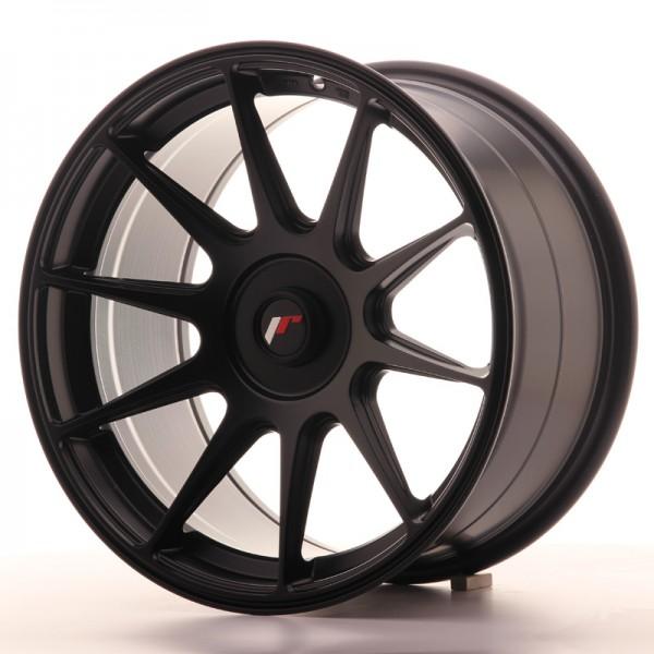 JR Wheels JR11 17x9 ET25-35 BLANK Matt Black