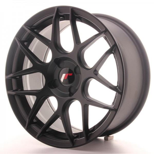 Japan Racing JR18 17x8 ET25-35 4H Blank Matt Black