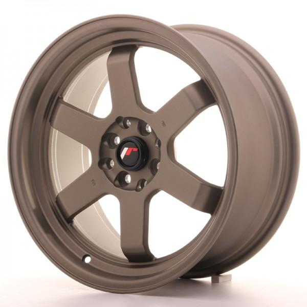 JR Wheels JR12 17x8 ET33 4x100/114 Matt Bronze
