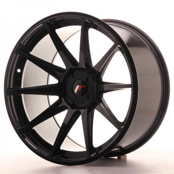 JR Wheels JR11 20x11 ET20-30 5H BLANK Gloss Black