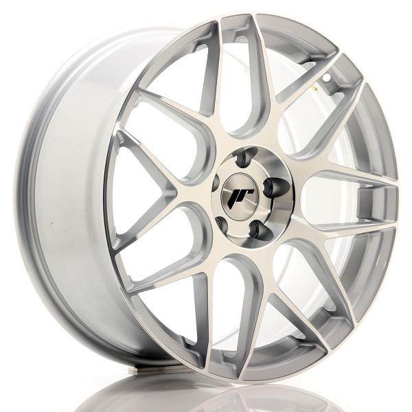 JR Wheels JR18 19x8,5 ET35 5x112 Silver Machined