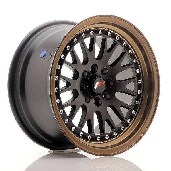 JR Wheels JR10 15x8 ET20 4x100/108 MatBlk BzLip