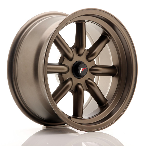 JR Wheels JR19 16x8 ET-20-0 BLANK Matt Bronze